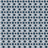 Seamless geometric pattern. Geometric simple print. Vector repeating texture. Royalty Free Stock Photos