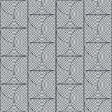 Seamless geometric pattern. Geometric simple print. Vector repeating texture. Stock Photography