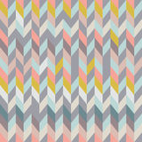 Seamless geometric pattern graphic modern decoration vector. Royalty Free Stock Photography