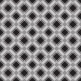 Seamless geometric pattern in gray colors. Royalty Free Stock Photos
