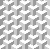 Seamless Geometric Pattern. Grayscale Background. Vector Stock Photography
