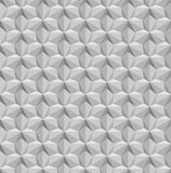 Seamless Geometric Pattern. Grayscale Background. Vector Stock Photos