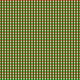 Seamless geometric pattern of green and red triangles on transparent white background. Vector illustration, EPS 10. Use as backdrop, background, texture in Royalty Free Stock Photo