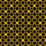 Seamless geometric pattern hearts illustration ornamental patter Royalty Free Stock Image