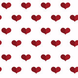 Seamless geometric pattern with hearts. Valentines day background. Flat background. Flat background with hearts. Seamless geometric pattern. Valentines day Royalty Free Stock Photos