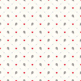 Seamless geometric pattern. Royalty Free Stock Photography
