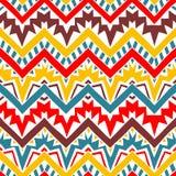 Seamless geometric pattern. Horizontal lines Royalty Free Stock Photography