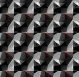 Seamless geometric pattern. Line style Stock Photography