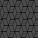 Seamless geometric pattern. Royalty Free Stock Images