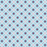 Seamless geometric pattern made with colorful elements Royalty Free Stock Images