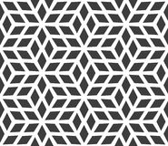 Seamless geometric pattern made up of diamonds Stock Photos