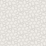 Seamless geometric pattern, many eggs nicely arranged Royalty Free Stock Image