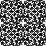 Seamless geometric pattern in modern hipster style Stock Photos