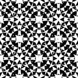 Seamless geometric pattern in modern hipster style Stock Photography