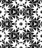 Seamless geometric pattern in modern hipster style Royalty Free Stock Photography