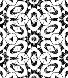 Seamless geometric pattern in modern hipster style Royalty Free Stock Images