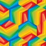 Seamless geometric pattern in multicolour. Seamless geometric pattern,  in multicolour Royalty Free Stock Photo