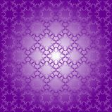Seamless Geometric Pattern Of Ultra Violet Color Stock Photos