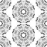 Seamless geometric pattern in oriental style Stock Photography