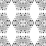 Seamless geometric pattern in oriental style Stock Photos