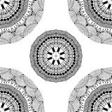 Seamless geometric pattern in oriental style Royalty Free Stock Photo