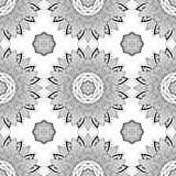 Seamless geometric pattern in oriental style Royalty Free Stock Image