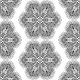 Seamless geometric pattern in oriental style Royalty Free Stock Images