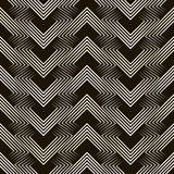 Seamless geometric pattern ornament stylish background. Vector r Royalty Free Stock Images
