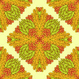 Seamless geometric pattern with ornamental rectangles Royalty Free Stock Photo