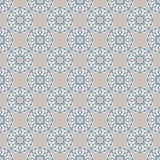 Seamless geometric pattern. Ornamental texture. Floral motifs. Vector abstract background. Arabic, Islamic motifs Stock Images