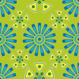 Seamless geometric pattern in pastel colors. Vector illustration Stock Photography