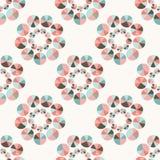 Seamless geometric pattern pastel tones Royalty Free Stock Photo