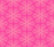 Seamless geometric pattern in pink colors Royalty Free Stock Image