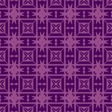 Seamless geometric pattern pink pattern on purple background. vector illustration