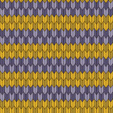 Seamless geometric pattern. Purple green yellow pattern Stock Illustration