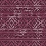 Seamless geometric pattern. Purple watercolor texture. Vector. Royalty Free Stock Photos