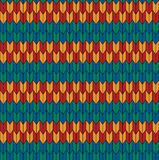 Seamless geometric pattern. Red blue green yellow pattern Royalty Free Illustration