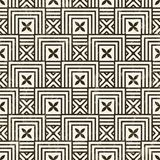 Seamless geometric pattern. Stock Photography