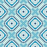 Seamless geometric pattern in retro style Royalty Free Stock Photos