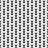 Seamless geometric pattern with rhombuses. Royalty Free Stock Photography