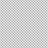 Seamless geometric pattern with scaly oval and shadow. Vector Illustration Stock Photography