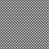 Seamless geometric pattern with scaly oval and shadow. Vector Illustration Royalty Free Stock Image