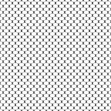 Seamless geometric pattern with scaly oval. Vector Illustration Royalty Free Stock Images