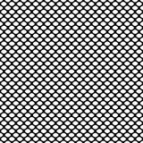 Seamless geometric pattern with scaly oval. Vector Illustration Royalty Free Stock Photos