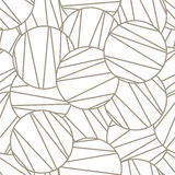 Seamless geometric pattern, seamless pattern Royalty Free Stock Photography