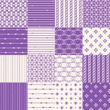 Seamless Geometric Pattern Set Royalty Free Stock Image