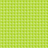 Seamless geometric pattern in shades of green Stock Photography