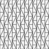 Seamless geometric pattern - simple design. Grid vector background stock illustration