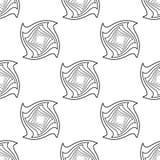 Seamless geometric pattern Stock Photography