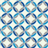 Seamless geometric pattern, simple vector black and white stripe Royalty Free Stock Photos